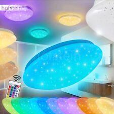 LED Bad Decken Lampen RGB Farbwechsler Wohn Schlaf Zimmer Leuchten Fernbedienung