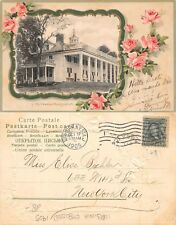 USA Virginia - Mt. Vernon Mansion EMBOSSED YEAR 1905 (A-L 689)