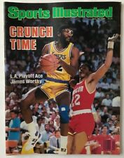 JAMES WORTHY May 19, 1986 Sports Illustrated Magazine - NO LABEL