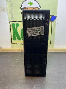 HP Z600 WORKSTATION PC INTEL XEON E5620 2.4GHZ 24GB 1TB HDD WINDOWS 7 TOWER