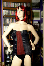 Heavy Red Retired Gothic corset   style 4012 SZ- L
