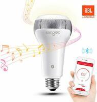Sengled INS103 Pulse Solo E27 Lampadina Altoparlante Bluetooth, Bianco, 6 W, G