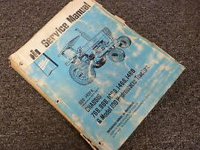 International Harvester 1468 & Hydro 100 Tractor Chassis Service Repair Manual