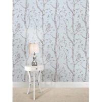 Wall Pops! NuWallpaper NU1413 Blue Woods Peel & Stick Removable Wallpaper