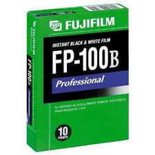 FUJIFILM FP-3000B Professional Instant BLACK & WHITE FILM 10 Prints