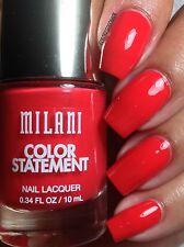NEW! Milani Color Statement Nail Polish in MANGO TANGO #39 Red-Orange Coral
