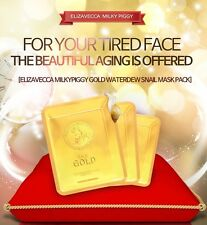 [Elizavecca] Milky Piggy 24K Gold Water dual Snail Mask Pack Sheet 3ea Wrinkle