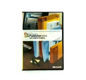 Microsoft Publisher 2003 with Digital Imaging