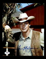 Lee Majors PSA DNA Coa Hand Signed 8x10 Big Valley Photo Autograph