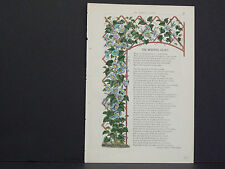 James Vick Seed Catalog Rocheter, N.Y. Flowers/ Vegetables, Hand Colored s#40