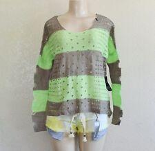 Fox Racing Women's Advance Sweater – Aluminium/Green sz S