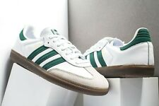 US:11  adidas Originals Men's  Iconic  SAMBA SNEAKERS  Collegiate Green LAST1