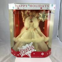 Vintage 1989 Happy Holidays Barbie Mattel No. 3523 NRFB Mint Snowflake Accessory