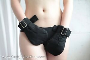 Medical Safety Mittens - Restraining soft padded mittens