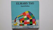 Elmars Tag von David McKee (1994, geb) Kinderbuch Bilderbuch Elefant    GUT!