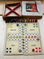 Mensch ärgere dich nicht JF Schmidt vintage game as played in the trenches - WW1