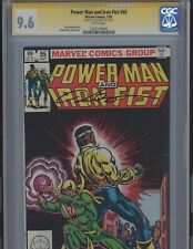 Power Man and Iron Fist #95 9.6  Signed by Kurt Busiek. CGC