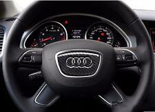 Audi Lenkrad Carbon Fiber Aufkleber A1 A3 A4 A6 A7 RS Q steering wheel sticker
