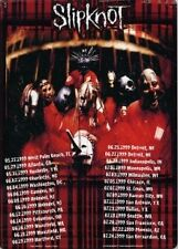 "Slipknot Alternative Nu Heavy Metal Concert Tour Tin Sign Poster 8 x 11-1/2"" New"