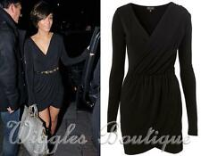 Topshop Patternless V-Neck Party Dresses for Women