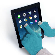 Texting Gloves for iPhone4/4S/5/5S/5C iPad mini 2, iPad Air -Touch Screen-Blue