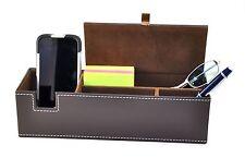 MEN Jewelry Dresser Desk Drawer Cell Phone Key Valet Organizer Storage Tray Box