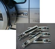 Mercedes W463 G Wagen Wagon Chrome Door Handle Covers Set