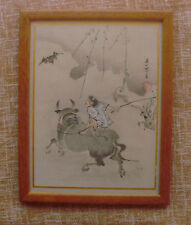 Pintura de la época Meiji?/Woodblock Print of Meiji Era?, very good condition