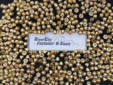 10 14 20 Brass Acorn Dome Cap Hex Nut 14 X 20 Nuts 14x20 Nut
