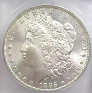 1885-O MORGAN SILVER DOLLAR ICG MS 65
