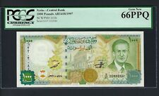 Syria 1000 Pounds 1997 P111b Uncirculated Grade 66