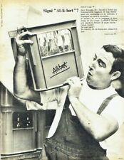 Publicité Advertising 097  1966  Allibert casier bouteille Henri Bouvard