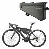 RockBros Mountain Road Bike Waterproof Bicycle Triangle Frame Bag Black 3L/5L/8L