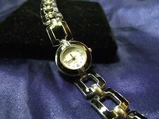 Woman's White Stag Enameled Watch B24-366