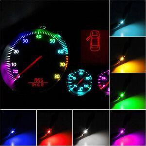10/20pcs T3 Neo Wedge Car Instrument Cluster Panel Lamps Gauge LED Bulbs Set
