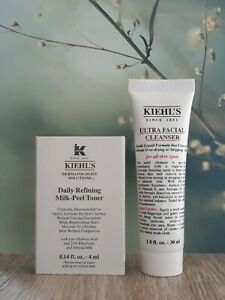 Kiehl's Ultra Facial Cleanser & Daily Refining Milk-Peel Toner