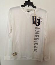 Vintage brand white color True Rock Men's shirt for size L/G