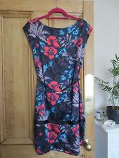 Marc by Marc Jacobs SILK HORIZON teal multi colour dress in Medium BRAND NEW