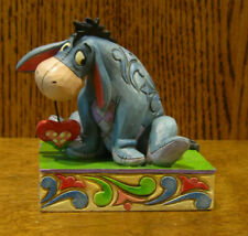 "Jim Shore Disney Showcase #4055437 EEYORE ""Heart on a String"" 3.5"", Enesco"