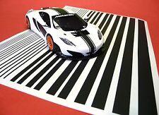 CAR ornamentali Strisce Rally Strisce in 1:32/1:24/1:28 adesivi decal 85999