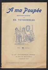 """MONOLOGUE pour ENFANT """"A MA POUPEE"""" par Ed. TEYSSONNEAU"""