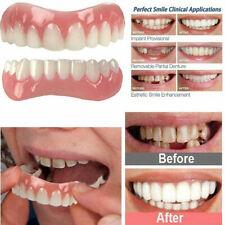 2Pcs Top + Bottom Veneers False Teeth  Denture Comfortable