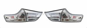 TOYOTA SIENNA SE TYPE TAILLIGHTS OUTER INNER TAIL LIGHTS REAR LAMPS 4 PIECE SET
