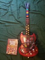 Ps2 Guitar Hero Aerosmith and wired Guitar controller. No dongle needed!