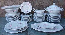 Important service de table porcelaine France @