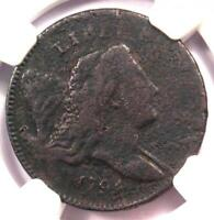 1794 Liberty Cap Flowing Hair Half Cent 1/2C - NGC Fine Detail - Rare Coin!