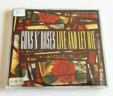 Guns N' Roses 'Live And Let Die' CD Maxi Single 1991 GED 21692 Rare