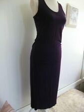 Ladies Long purple Midi dress size 14