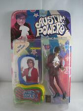 McFarlane Toys Austin Powers figure 1999 Purple Suit Talking base yeah baby !