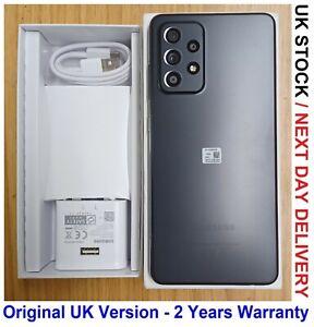 SAMSUNG GALAXY A52 5G SM-A526B/DS UNLOCKED 128GB + 6GB BLACK GRADE A